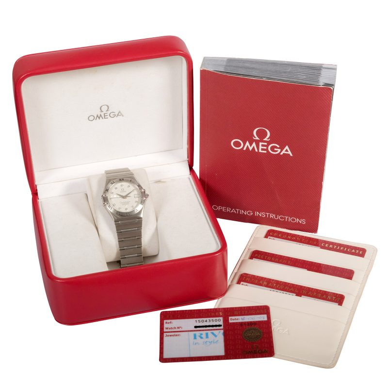 Omega Constellation Diamond Set Watch Ref: 1504.35.00 - Order Online Today For Next Day Delivery - Sell Your Omega Watch