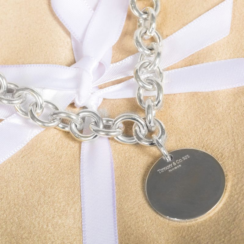 Shop Sterling Silver 925 Return To Tiffany Bracelet - Order Online Today For Next Day Delivery - Sell Your Tiffany Jewellery