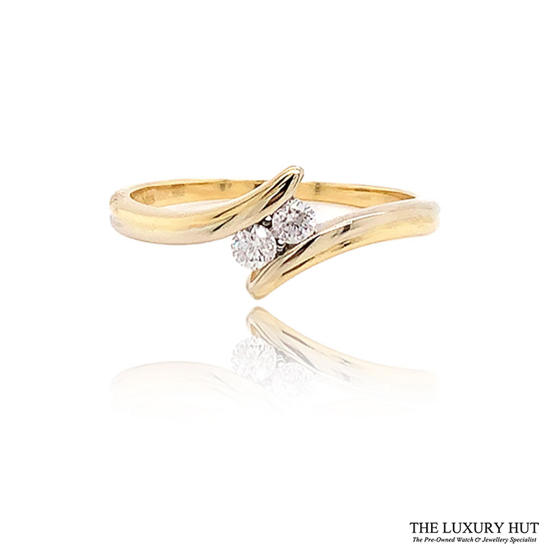 Shop 18ct Yellow Gold 0.15ct Diamond Engagement Ring - Order Online Today For Next Day Delivery - Sell Your Diamond Rings To The Luxury Hut Hatton Garden