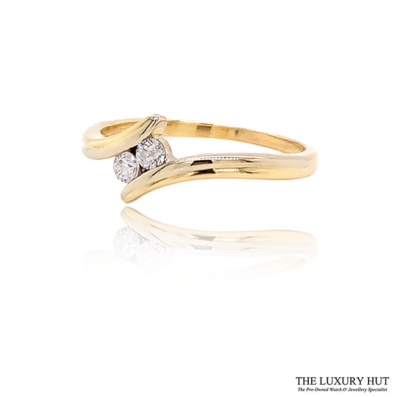 Shop 18ct Yellow Gold 0.15ct Diamond Engagement Ring - Order Online Today For Next Day Delivery - Sell Your Diamond Rings To The Luxury Hut