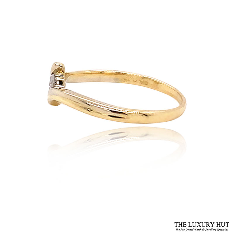 Shop 18ct Yellow Gold 0.15ct Diamond Engagement Ring - Order Online Today For Next Day Delivery - Sell Your Diamond Rings
