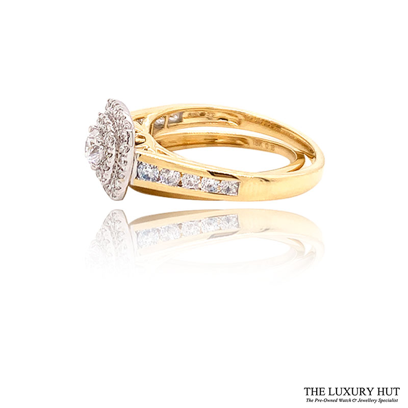 Shop 18ct Yellow Gold 1.00ct Diamond Ring Set - Order Online Today For Next Day Delivery - Sell Your Diamond Rings