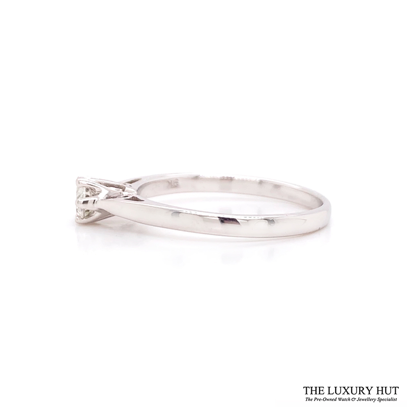 Shop 9ct White Gold & Diamond Engagement Ring - Order Online Today For Next Day Delivery - Sell