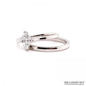 Shop Platinum 0.47ct Diamond Ring Set - Order Online Today For Next Day