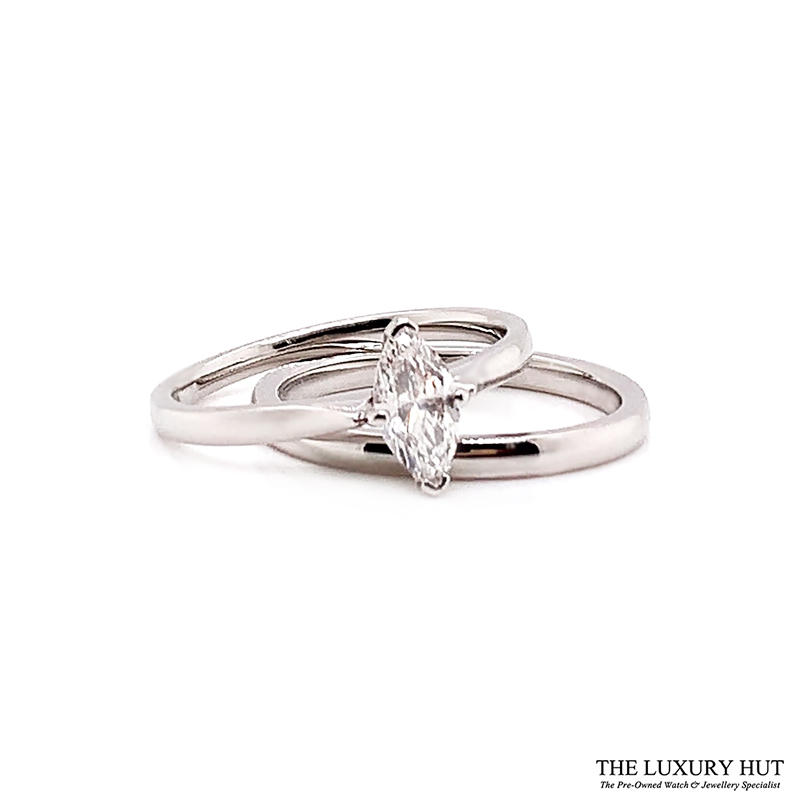 Shop Platinum 0.47ct Diamond Ring Set - Order