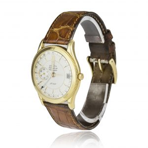 hop Zenith Elite GMT 18ct Gold Limited Edition Watch - Order Online Today