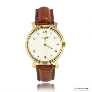 Shop IWC Vintage 18ct Gold Dress Watch - Order Online Today For Next Day Delivery