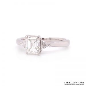 Shop 18ct White Gold 1.30ct GIA Diamond Engagement Ring - Order Online Today
