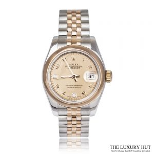 Ladies Bi-Metal Rolex Datejust Ref: 179161 Watch Order Online Today For Next Day Delivery