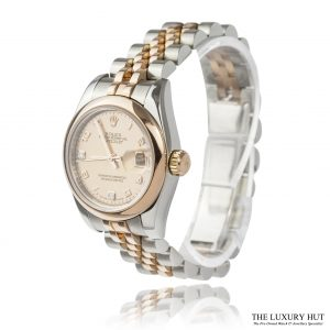 Ladies Bi-Metal Rolex Datejust Ref: 179161 Watch Order Online Today For Next Day