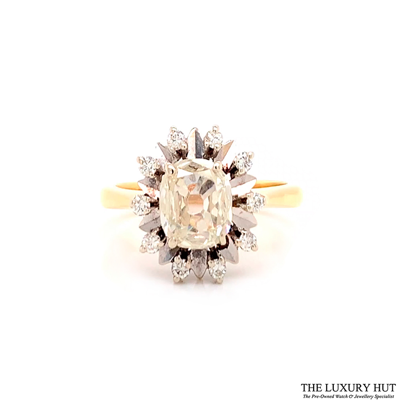 Shop 18CT Vintage Certified Diamond Rings - Order Online Today For Next Day Delivery