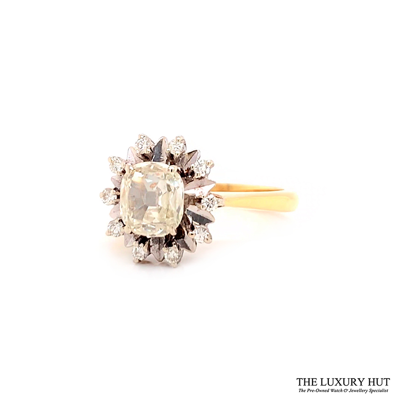 Shop 18CT Vintage Certified Diamond Rings - Order Online Today For Next Day