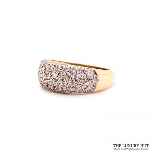 Shop 9ct Yellow Gold 0.50ct Round Brilliant Cut Diamond Ring – Order Online Today For Next Day