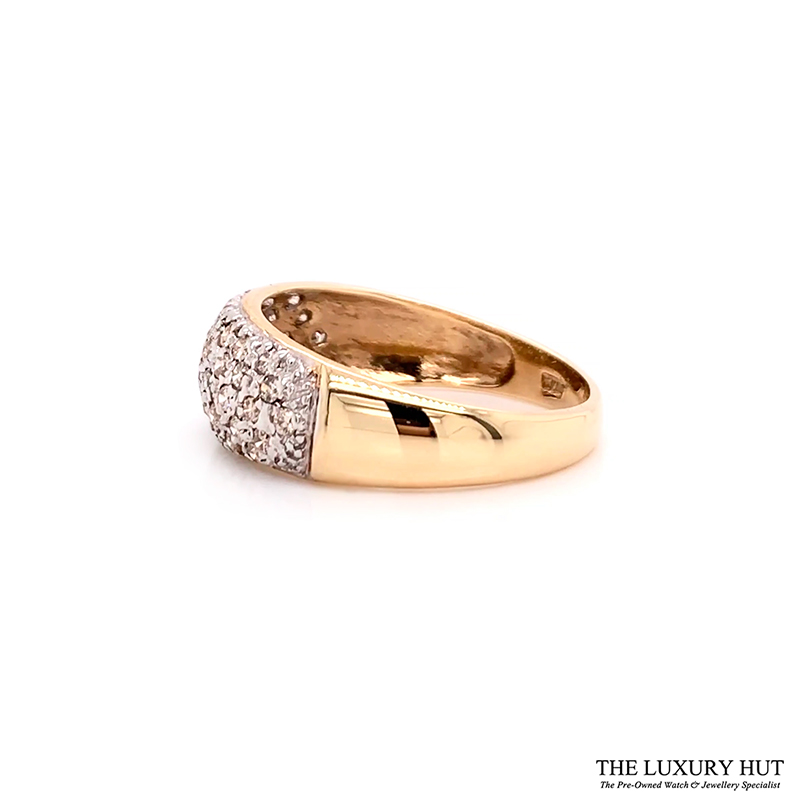 Shop 9ct Yellow Gold 0.50ct Round Brilliant Cut Diamond Ring – Order Online