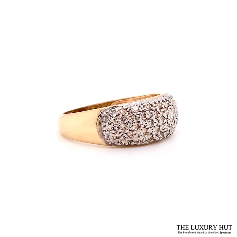 Shop 9ct Yellow Gold 0.50ct Round Brilliant Cut Diamond Ring – Order Online Today Delivery