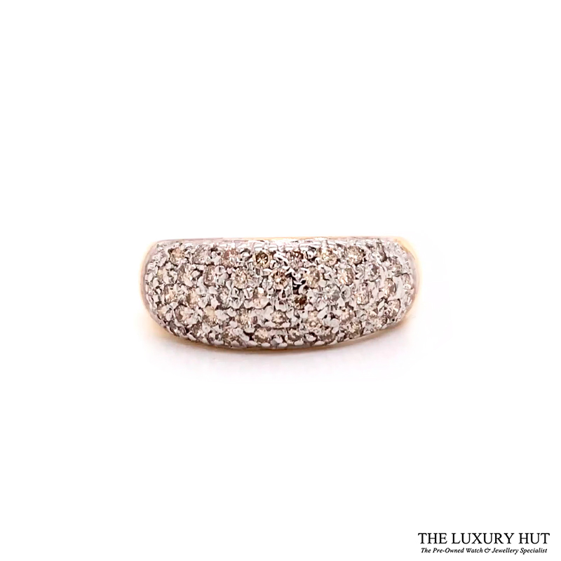 Shop 9ct Yellow Gold 0.50ct Round Brilliant Cut Diamond Ring – Order Online Today For Next Day Delivery