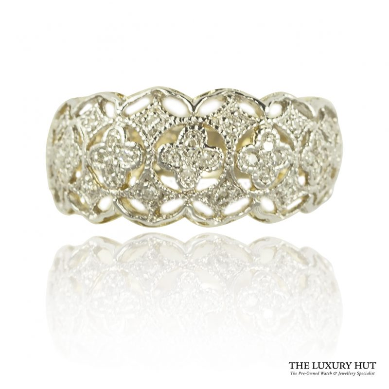Shop 9ct Yellow Gold 0.15ct Certified Single Cut Diamond Ring – Order Online Today For Next Day Delivery