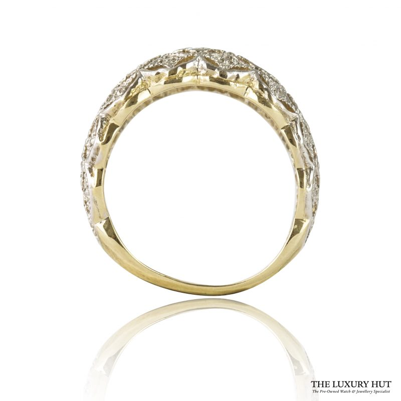 Shop 9ct Yellow Gold 0.15ct Certified Single Cut Diamond Ring – Order Online