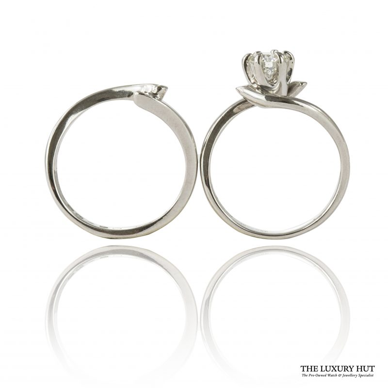 Shop Set of Two 950 Platinum & Diamond Engagement & Wedding Rings – Order Online Today
