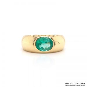 Shop 18ct Yellow Gold & 1.40ct Emerald Ring - Order Online Today For Next Day Delivery