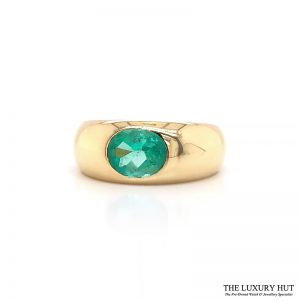 Shop 18ct Yellow Gold & 1.40ct Emerald Ring - Order Online Today For Next Day