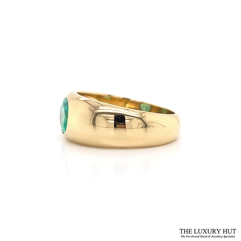Shop 18ct Yellow Gold & 1.40ct Emerald Ring - Order Online Today