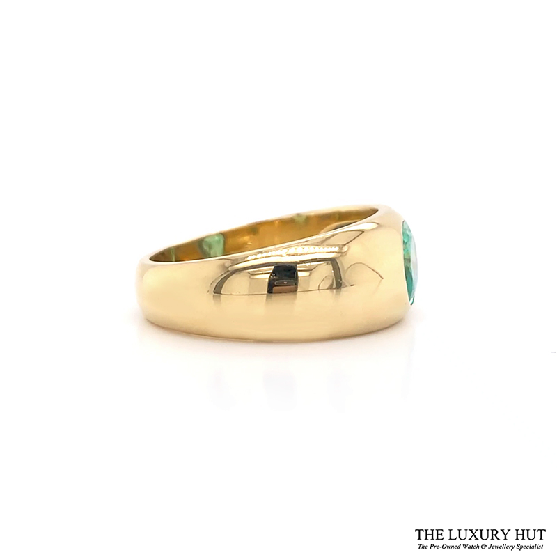 Shop 18ct Yellow Gold & 1.40ct Emerald Ring - Order Online Today Delivery