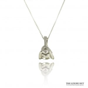 Shop 9ct White Gold 0.14ct Diamond Pendant - Order Online Today