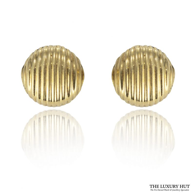 Shop Vintage 18ct Yellow Gold French Dress Studs - Order Online Today For Next Day Delivery