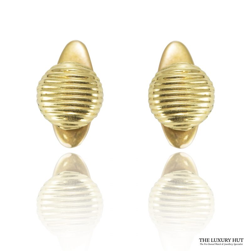 Shop Vintage 18ct Yellow Gold French Dress Studs - Order Online Today For Next Day