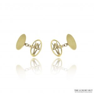 Shop 9ct Yellow Gold Masonic Chain Link Cufflinks - Order Online Today For Next Day Delivery