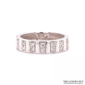 Shop 18ct White Gold 0.14ct Certified Diamond Band Ring - Order Online Today For Next Day Delivery