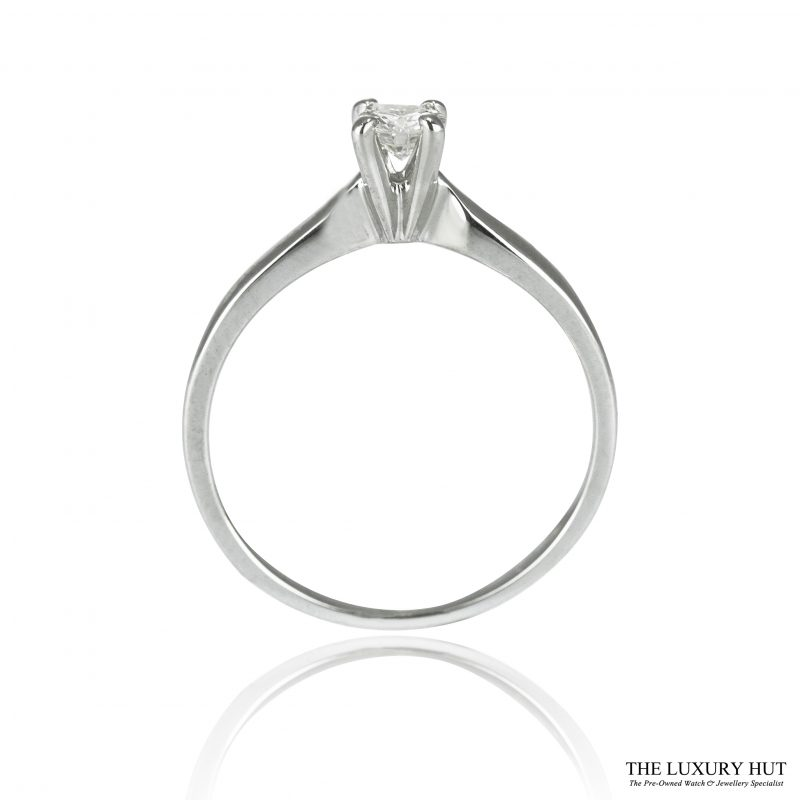 Shop 18ct White Gold 0.25ct Diamond Engagement Ring - Order Online Today