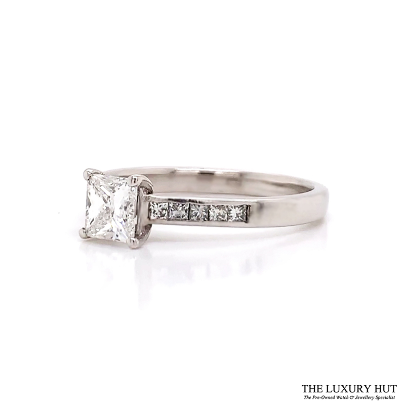 Shop Palladium 0.80ct GIA Certified Diamond Solitaire Ring - Order Online