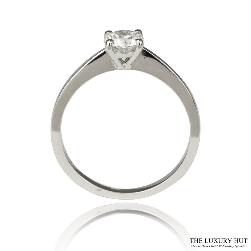 Platinum GIA 0.55ct Certified Diamond Engagement Ring - Order Online Today