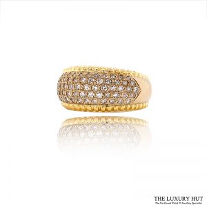 Shop 18ct Yellow Gold 0.70ct Diamond Band Ring - Order Online Today For Next Day