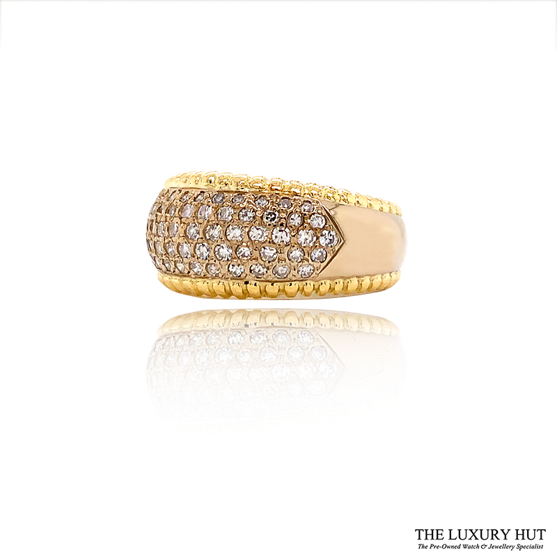 Shop 18ct Yellow Gold 0.70ct Diamond Band Ring - Order Online