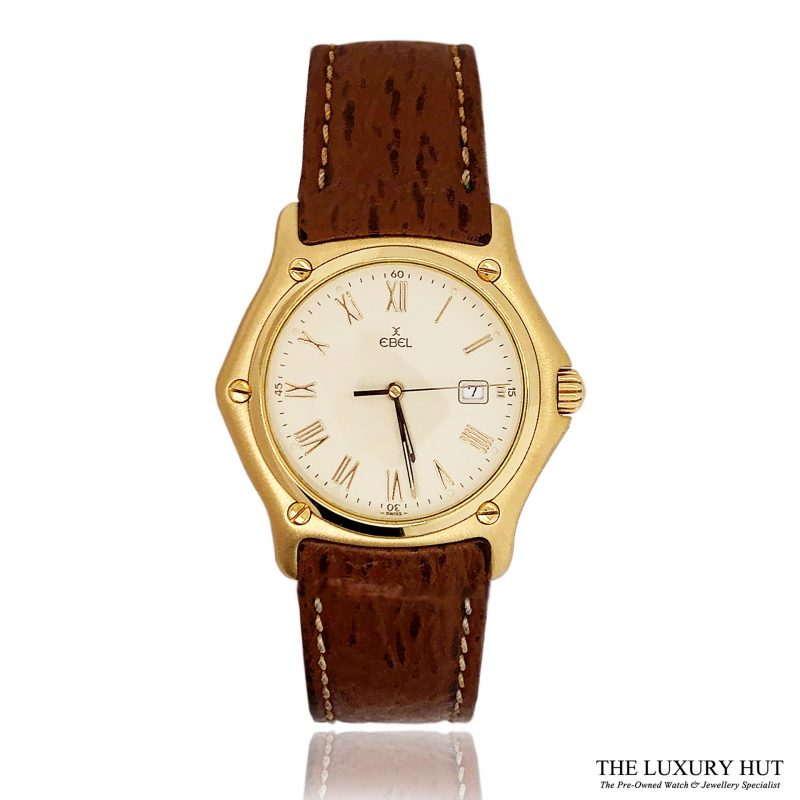Ebel 1911 18ct Gold Classic Watch Ref 887902- Order Online Today For Next Day Delivery