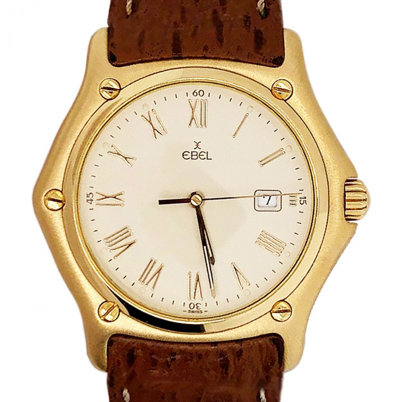 Ebel 1911 18ct Gold Classic Watch Ref 887902- Order Online Today Delivery