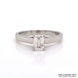 Platinum Beaverbrooks 0.60ct Crisscut Diamond Engagement Ring - Order Online Today For Next Day Delivery