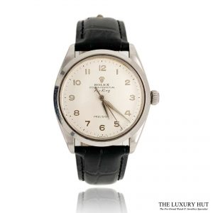 Rolex Rare Dial Steel Oyster Perpetual Air King Watch Ref 5500 Order Online Today For Next Day Delivery