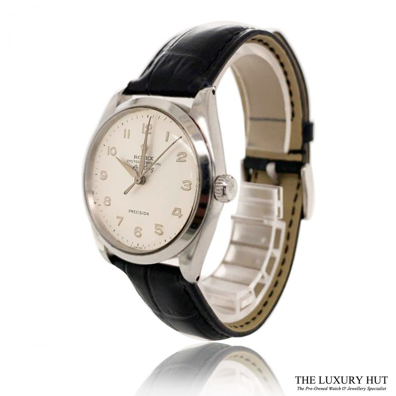 Rolex Rare Dial Steel Oyster Perpetual Air King Watch Ref 5500 Order Online Today For Next Day