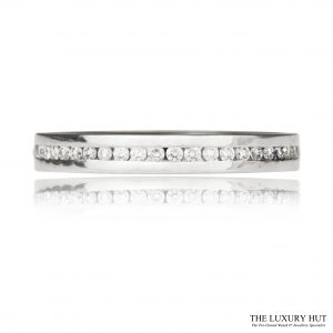 Shop 18ct White Gold 0.25ct Diamond Full Eternity Ring - Order Online Today For Next Day Delivery