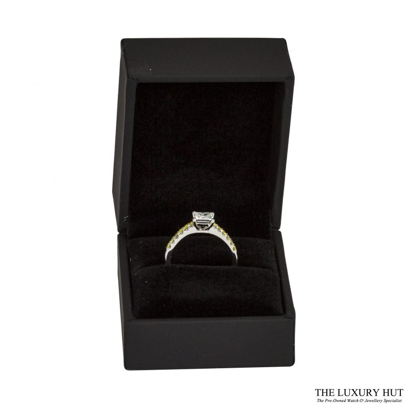 Platinum 1.00ct Princess Cut Diamond Engagement Ring - Order Next Day Delivery
