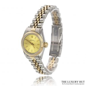 Rolex Ladies Bi-Metal Datejust Ref: 67193 - Order Online Today For Next Day