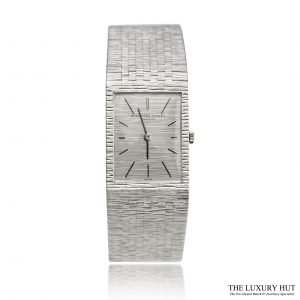 Shop Audemars Piguet Vintage 18ct White Gold Watch - Order Online Today For Next Day Delivery