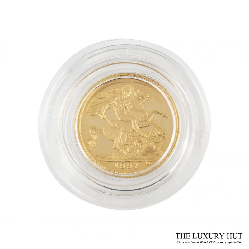 Shop 1997 Royal Mint Gold Half Sovereign Coin - Order Online Today For Next Day Delivery