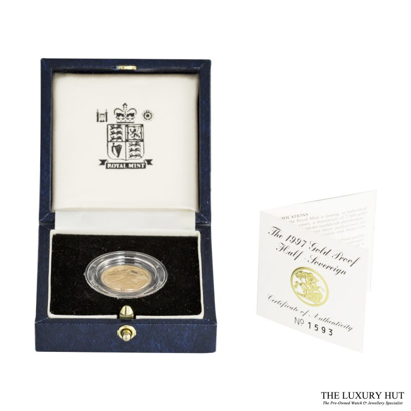 Shop 1997 Royal Mint Gold Half Sovereign Coin - Order Online Today For Next Day