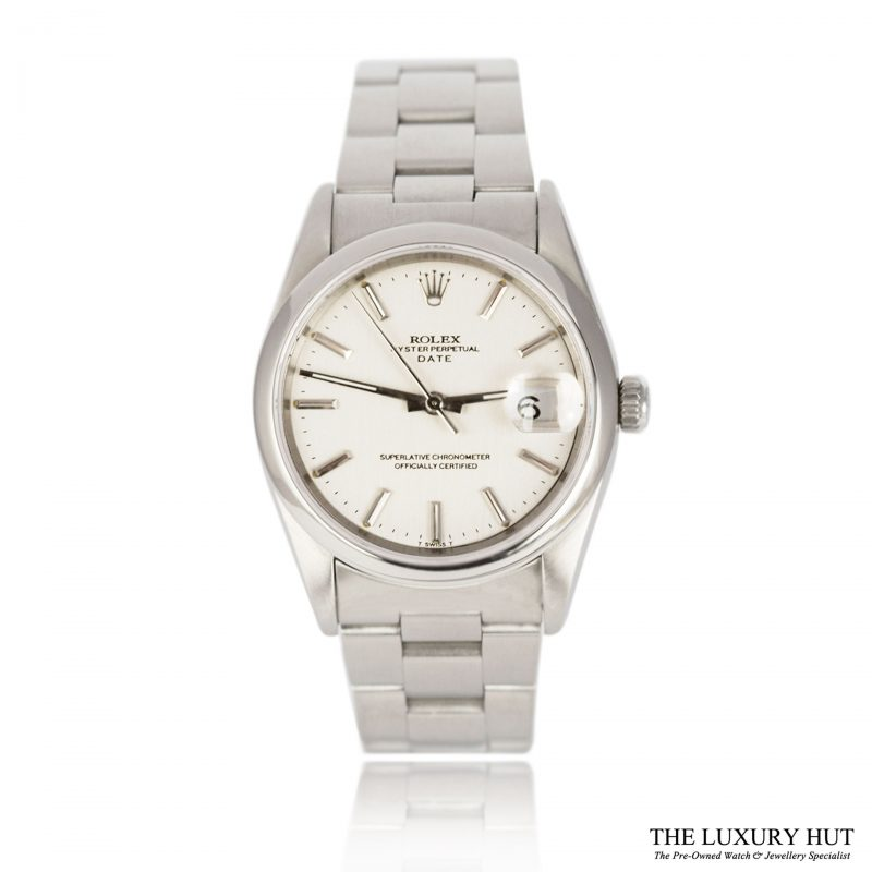 Shop Rolex Steel Oyster Perpetual Date Watch Ref 15200 - Order Online Today For Next Day Delivery