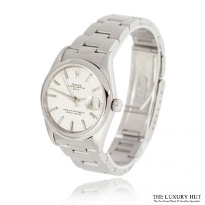 Shop Rolex Steel Oyster Perpetual Date Watch Ref 15200 - Order Online Today For Next Day